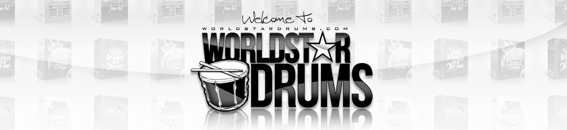 World Star Drums – BUY DRUM KITS & SOUNDS Header